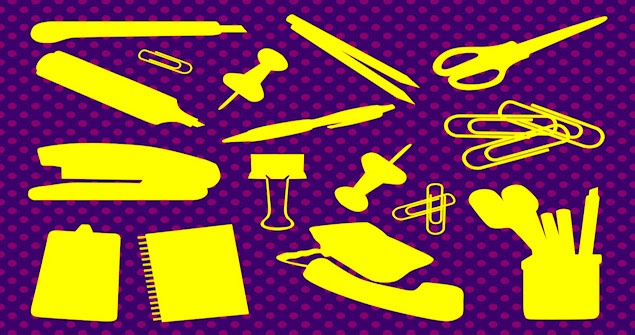 FreeVector-Office-Supplies-Vectors