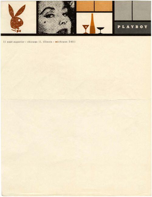 Playboy-letterhead