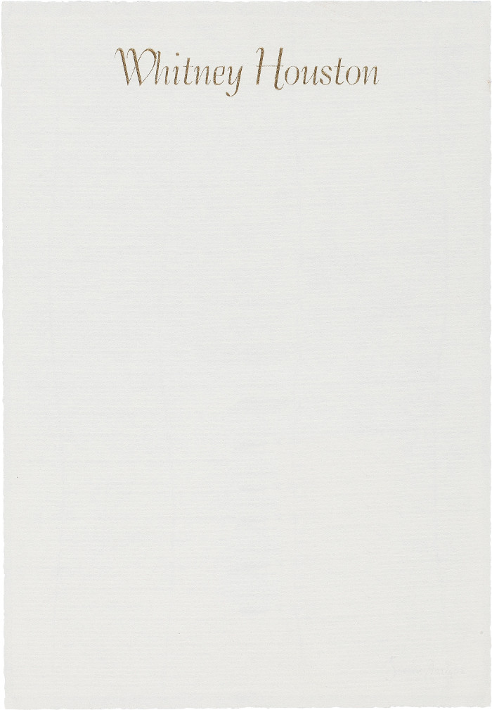 Whitney-Houston-letterhead